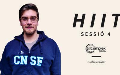 HIIT Sessió 4 #entrenaacasa